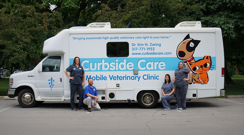 Curbside Care Mobile Veterinary Clinic Indianapolis IN